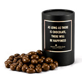 125g Milk Chocolate Peanuts - Black Cylinder