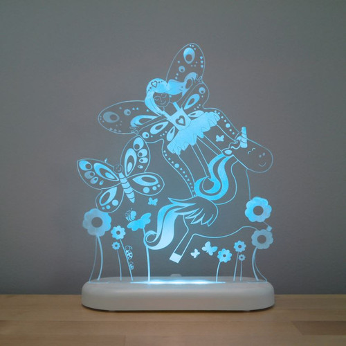 Aloka Night Light Fairy Land Bright Blue