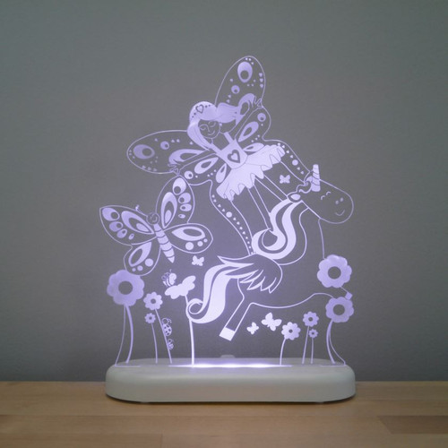 Aloka Night Light Fairy Land Purple