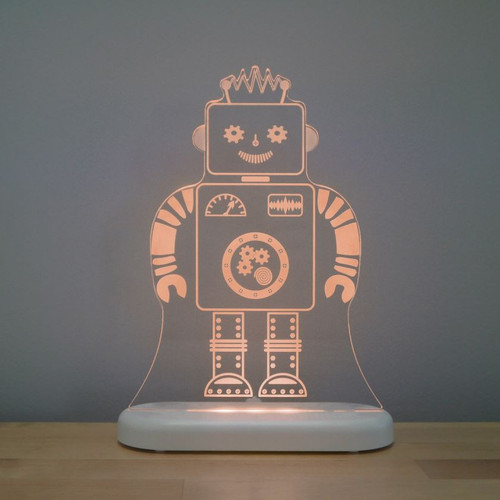 Aloka Lights Robot Night Brown