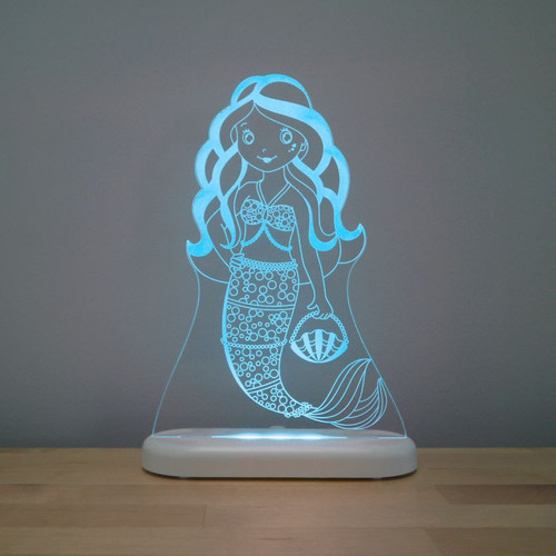 Aloka Night Light Mermaid Blue