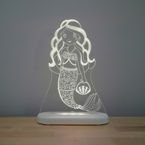 Aloka Night Light Mermaid Grey