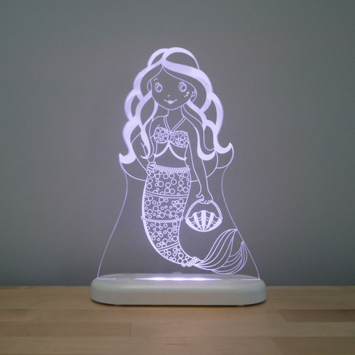 Aloka Night Light Mermaid Light Purple