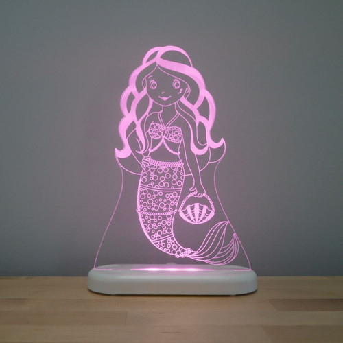 Aloka Night Light Mermaid Light Pink
