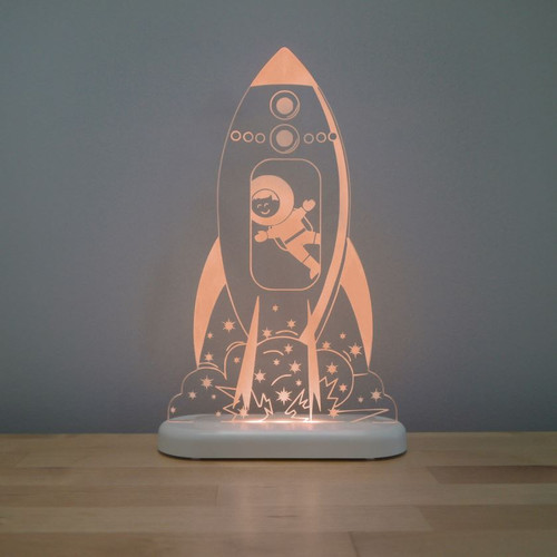 Aloka Night Light Rocket Orange