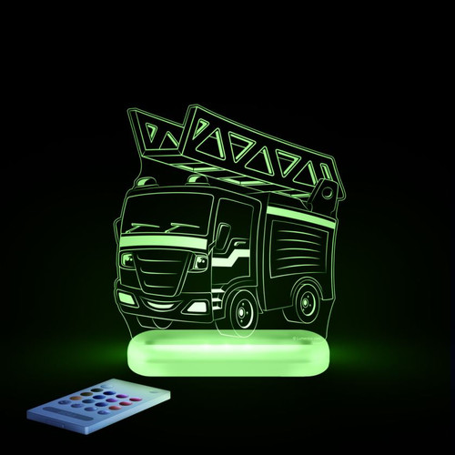 Aloka Lights Fire Engine Green
