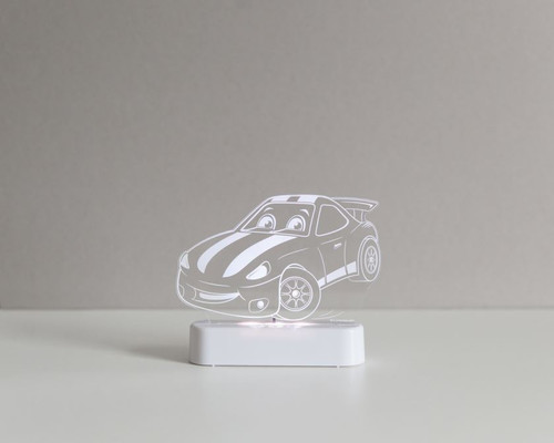 Aloka Night Light Racing Car Free Shipping