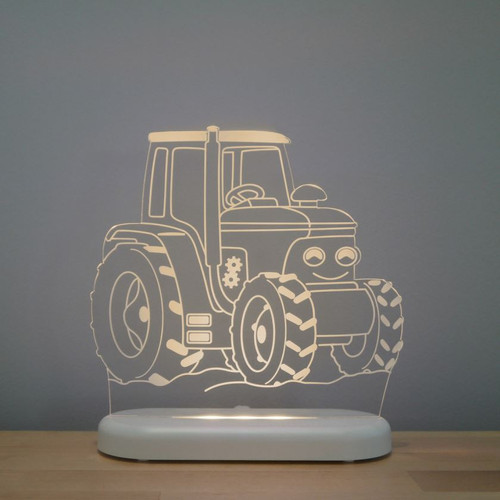Aloka Boys Night Light Tractor Beige