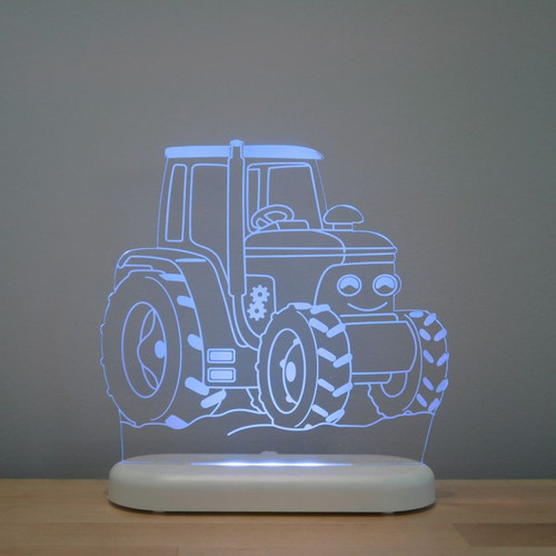 Aloka Boys Night Light Tractor Blue