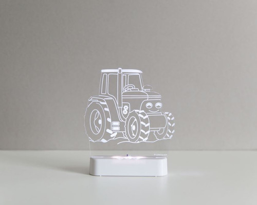 Aloka Boys Night Light Tractor Off