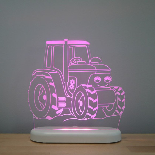 Aloka Boys Night Light Tractor Pink