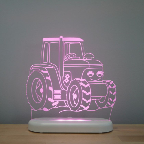 Aloka Boys Night Light Tractor Purple