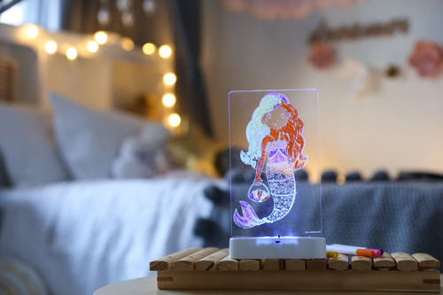 Aloka-ColourMe-LED-Mermaid-Luminous-distribution-with-Pens-lifestyle-9
