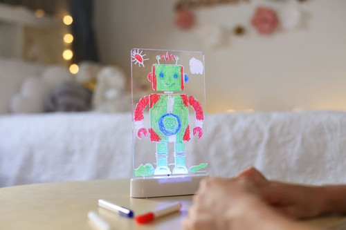 Colour Me Night Light Robot Day