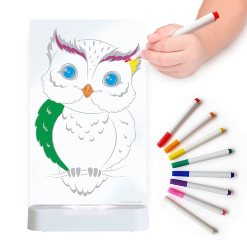 Aloka Night Lights Colour Me Owl