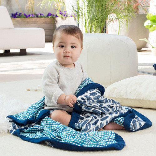 Silky Soft Dream Blanket - Seaport & Net Silky