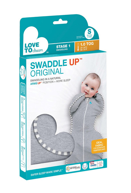 Swaddle Up Original 1.0 TOG -Grey