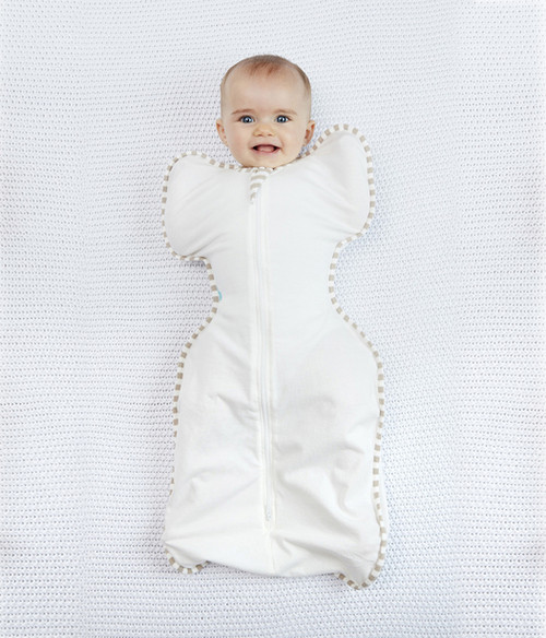 Swaddle Up Organic 1.0 TOG -Cream