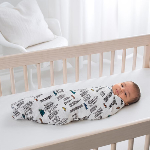 4-Pack Classic Swaddles - Colour Pop