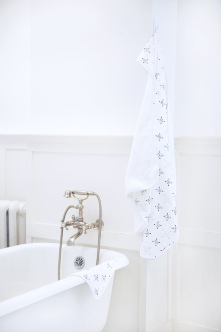 Muslin-Backed Hooded Towel Set - Lovestruck