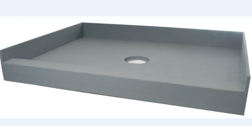 "PF112 ABS: PreFormed 36"" x 36"" Shower Pan ABS"