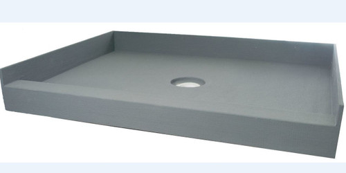 "PF117: PreFormed 48"" x 48"" Shower Pan PVC"