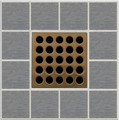 "4"" Grate Brushed Bronze"