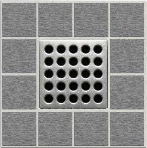"4"" Grate - Satin Nickel"