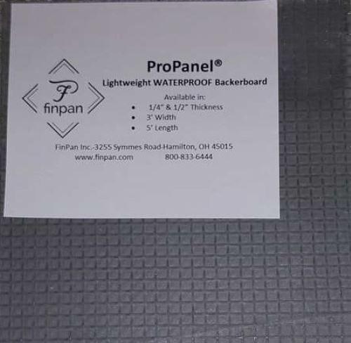 "PRO5003660: ProPanel 3' x 5' x 1/2"""