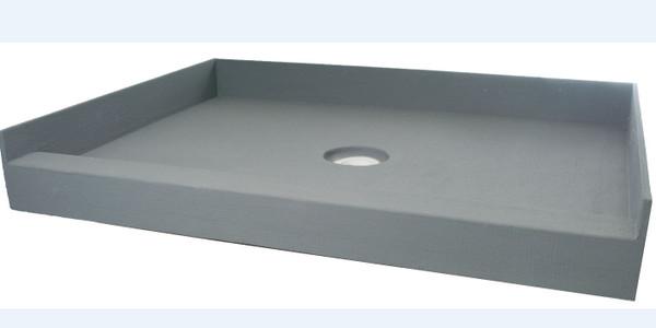 "PF110: PreFormed 32"" x 60"" Shower Pan PVC"