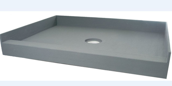 "PF115 ABS: PreFormed 36"" x 60"" Shower Pan ABS"