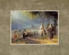 Journey To Bethlehem 11x14 Print by Joseph Brickey.  Mats may vary *