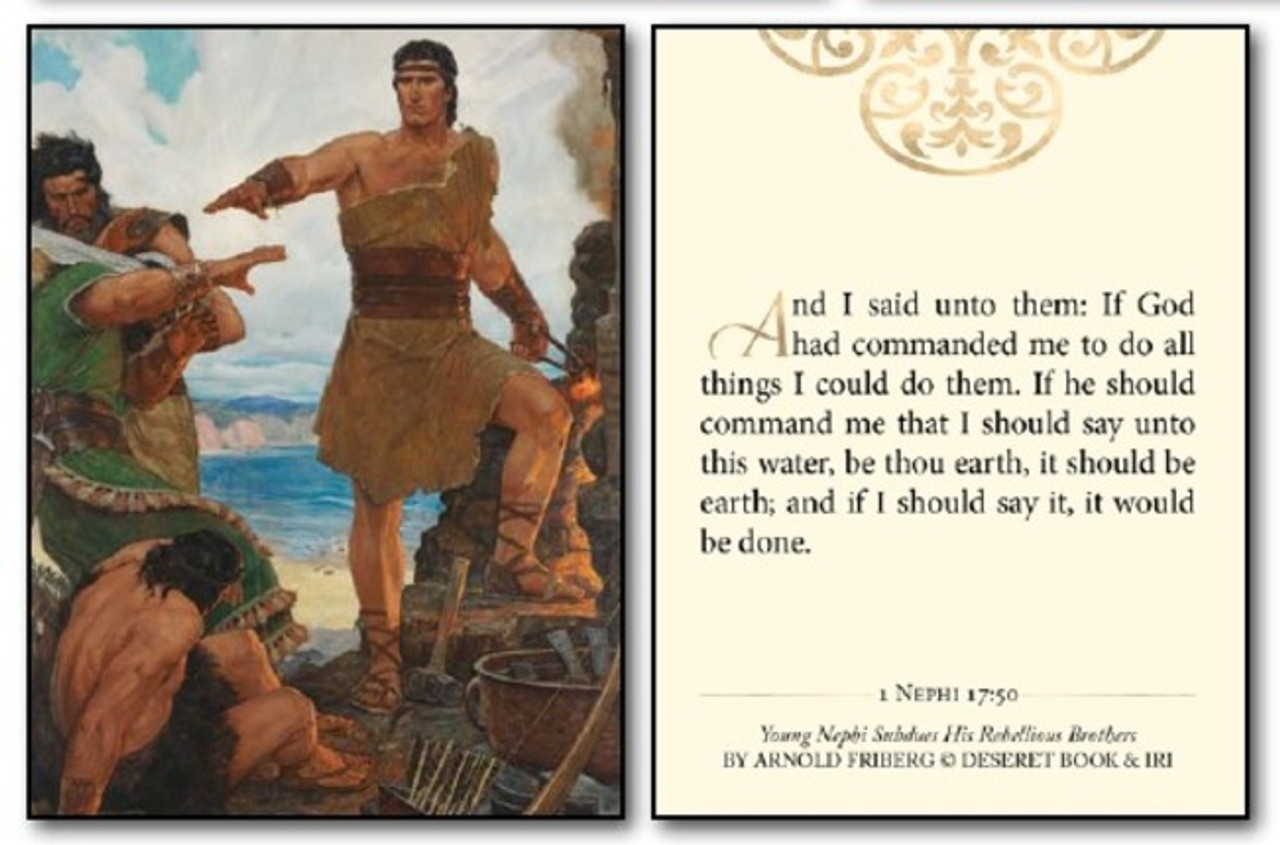 Minicard Pack - The Classic Book of Mormon Art of Arnold Friberg (3x4 Print)