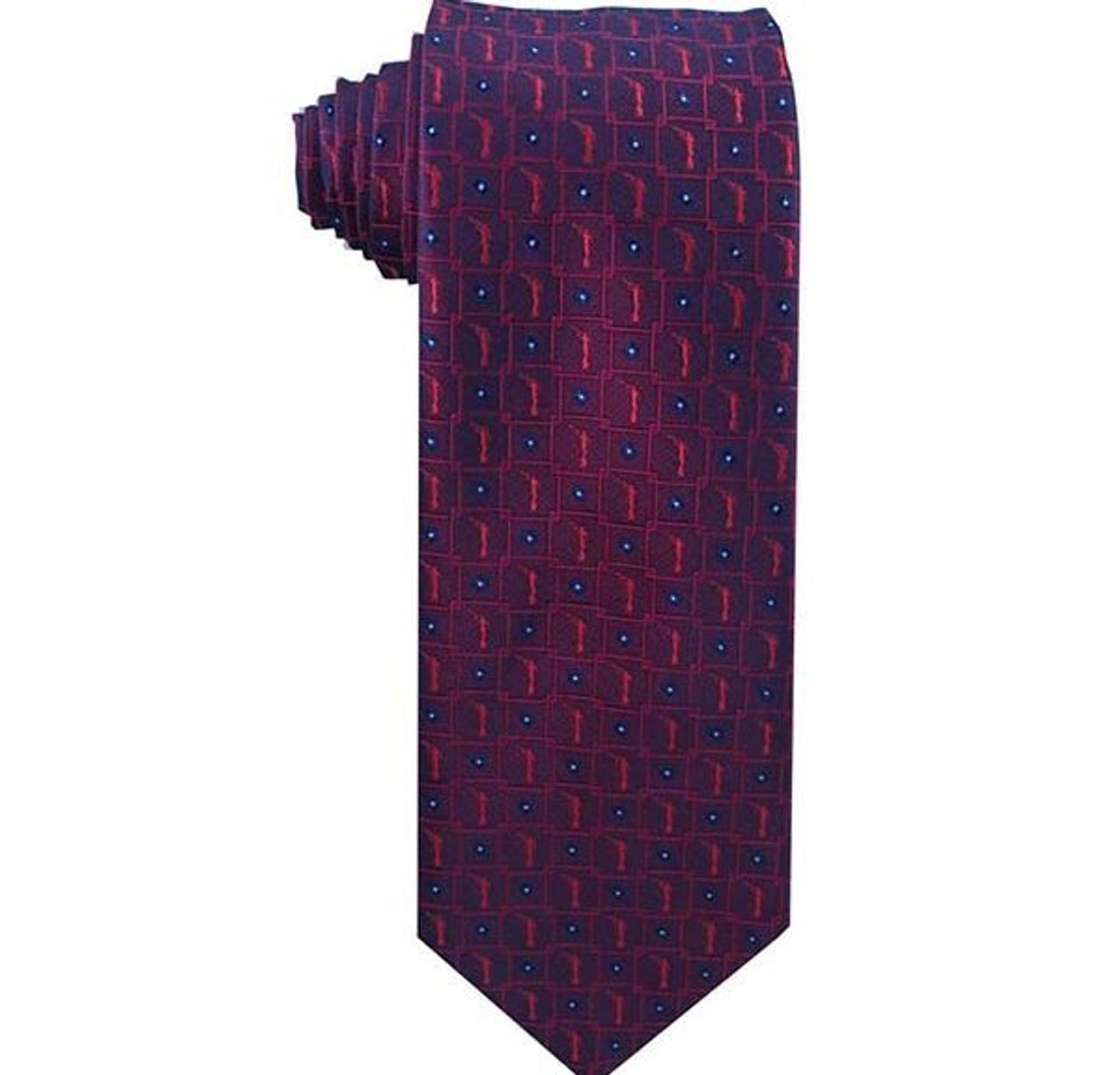 Burgundy Angel Moroni Boy`s Zipper Tie ages 4-10