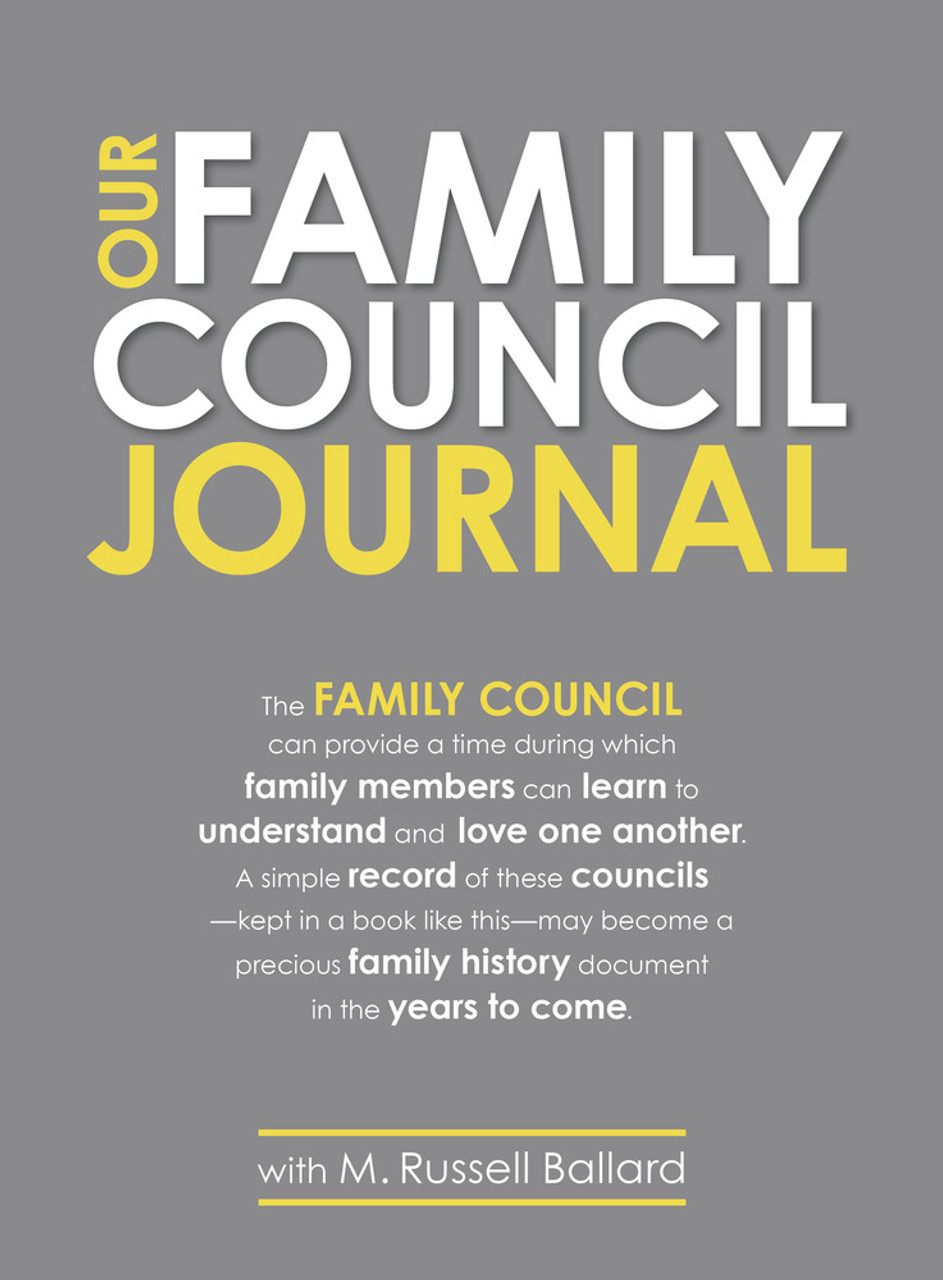 Our Family Council Journal (Paperback) *