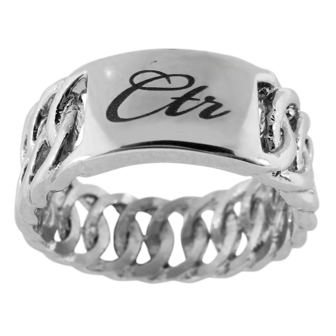 Braid CTR Ring (Stainless Steel)  *
