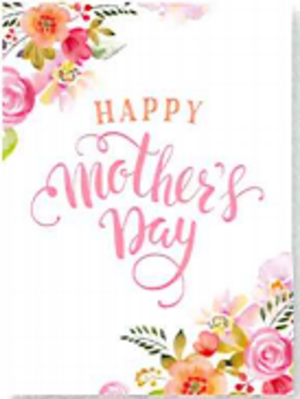 Happy Mother's Day - Greeting Card *