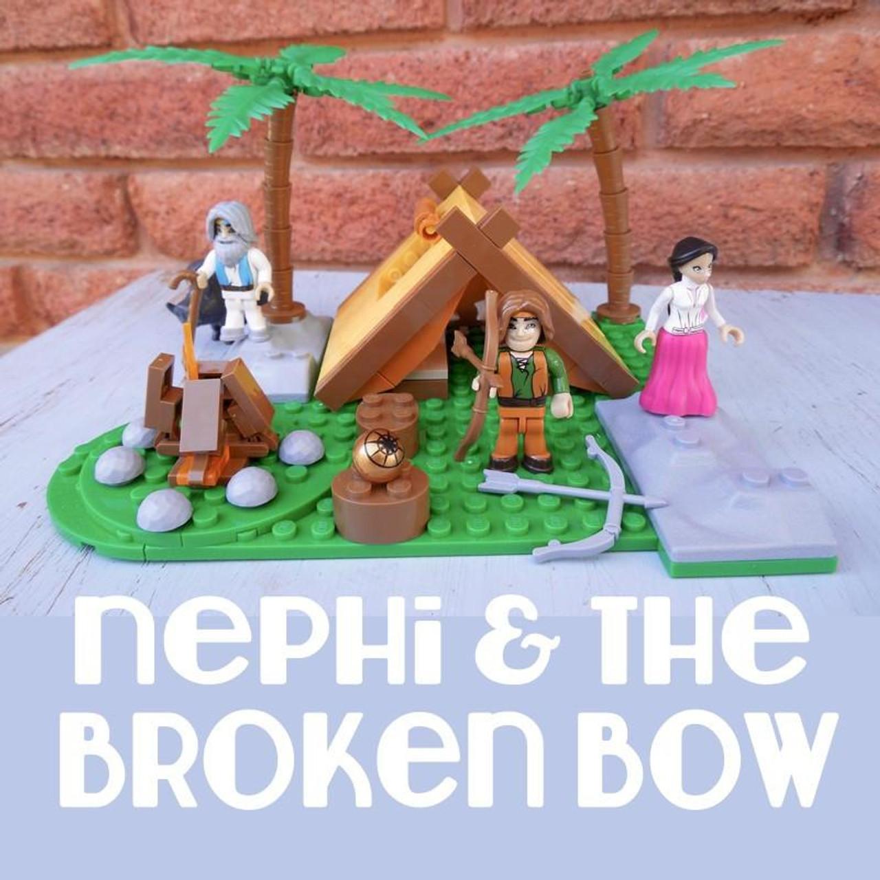 Brick Set - Nephi & the Broken Bow (150 pieces) *