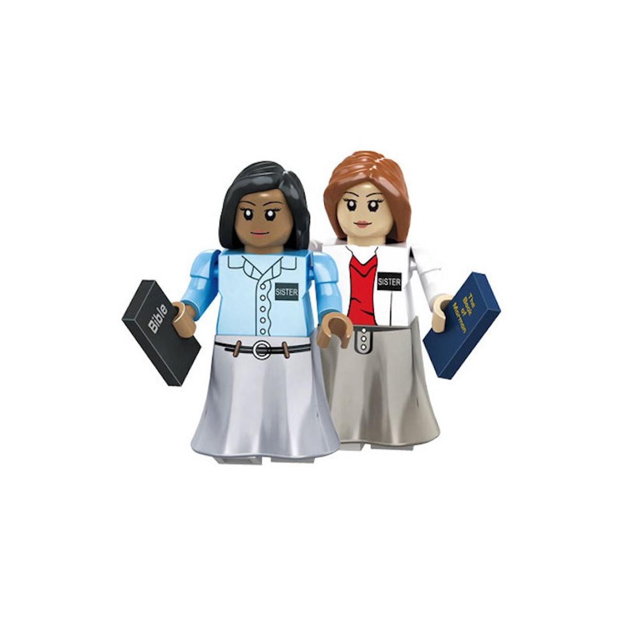 Brick Set Figures - Sister Missionaries*