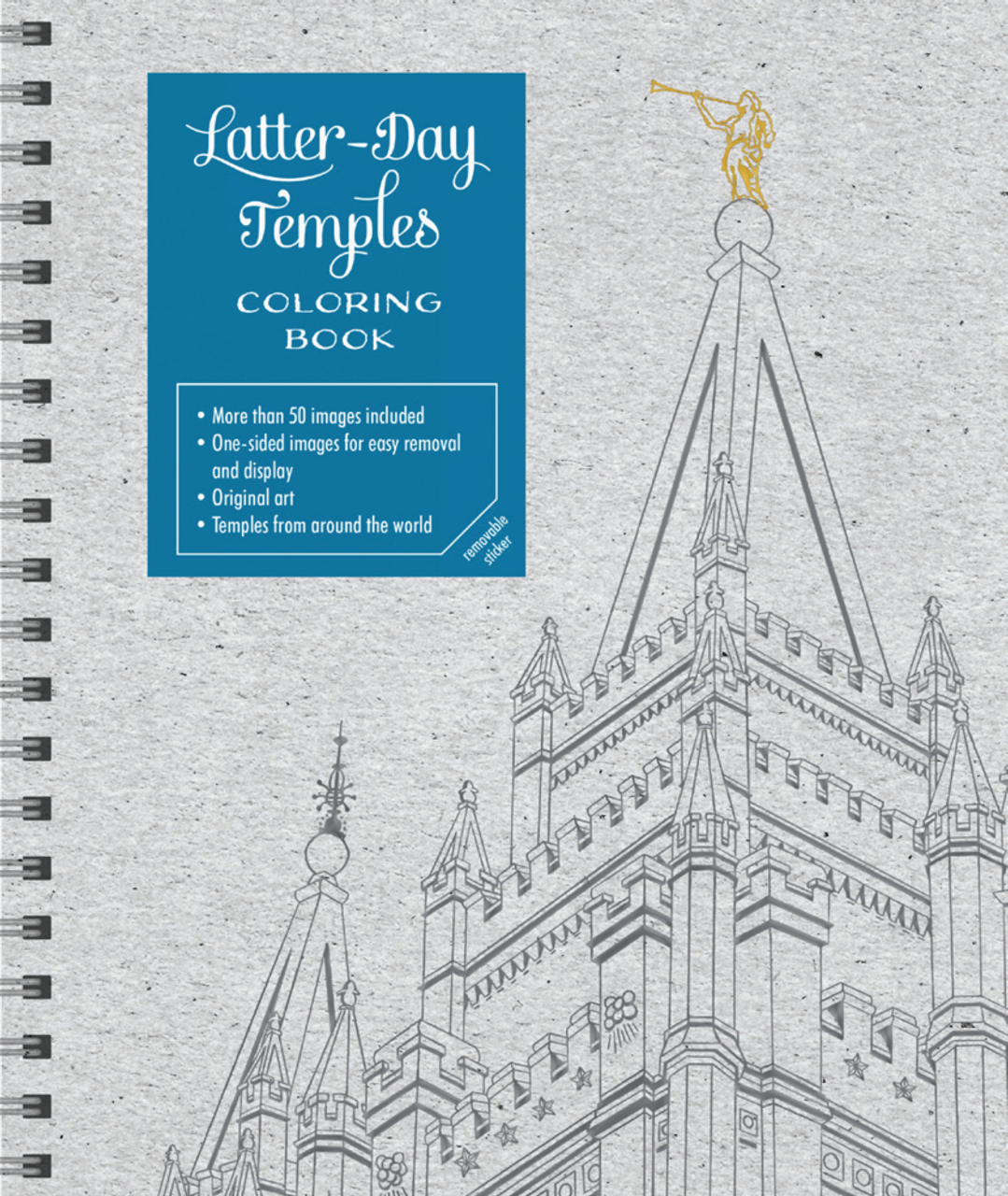 Latter-day Temples Coloring Book (Hardcover) *