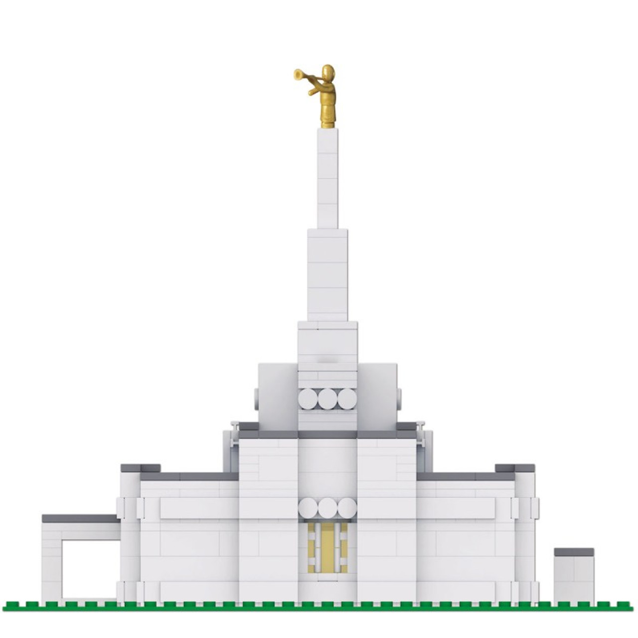 Brick Set - Small Temple Design used for 40+ Temples Including Edmonton, Regina, Halfax