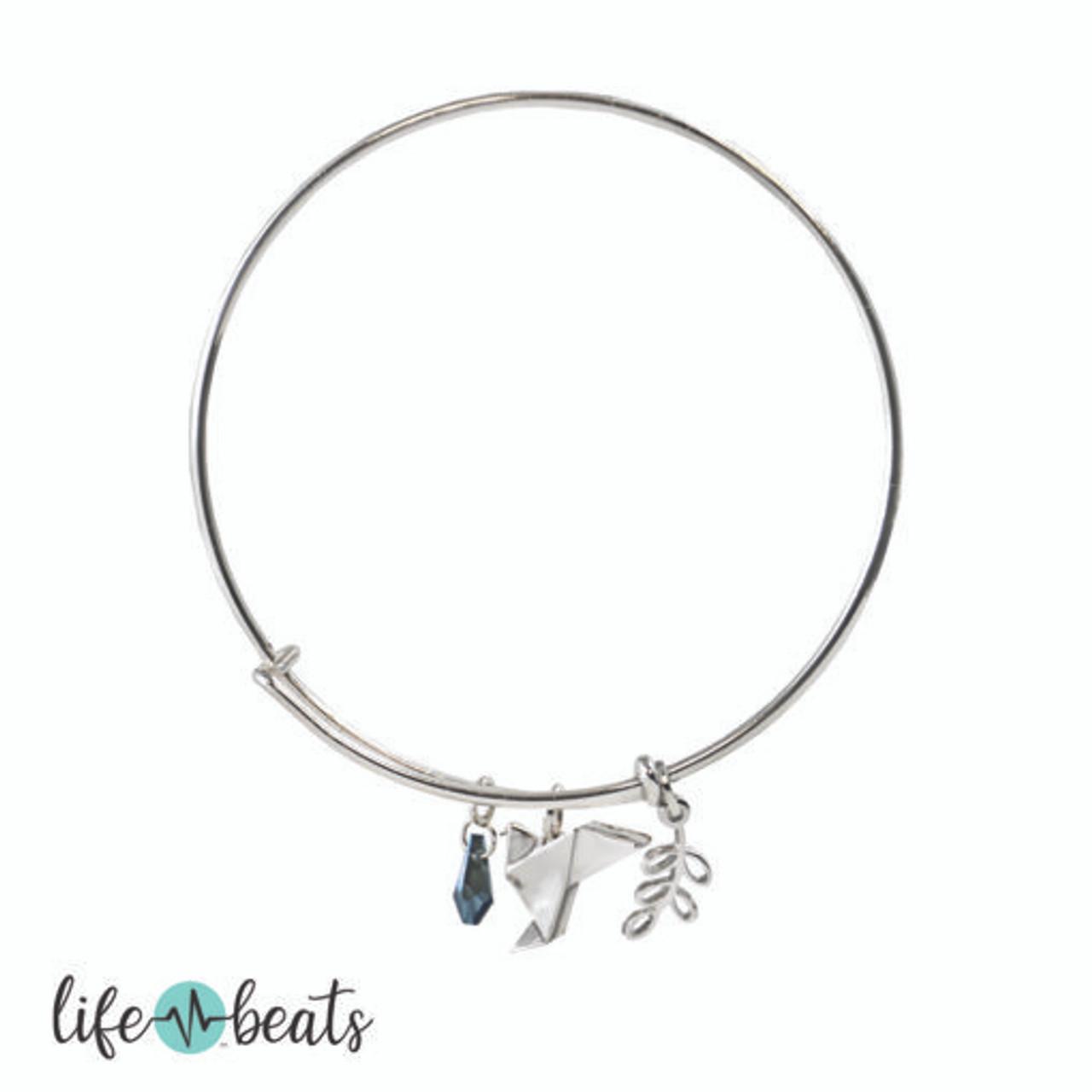 Choose Peace Bangle Bracelet