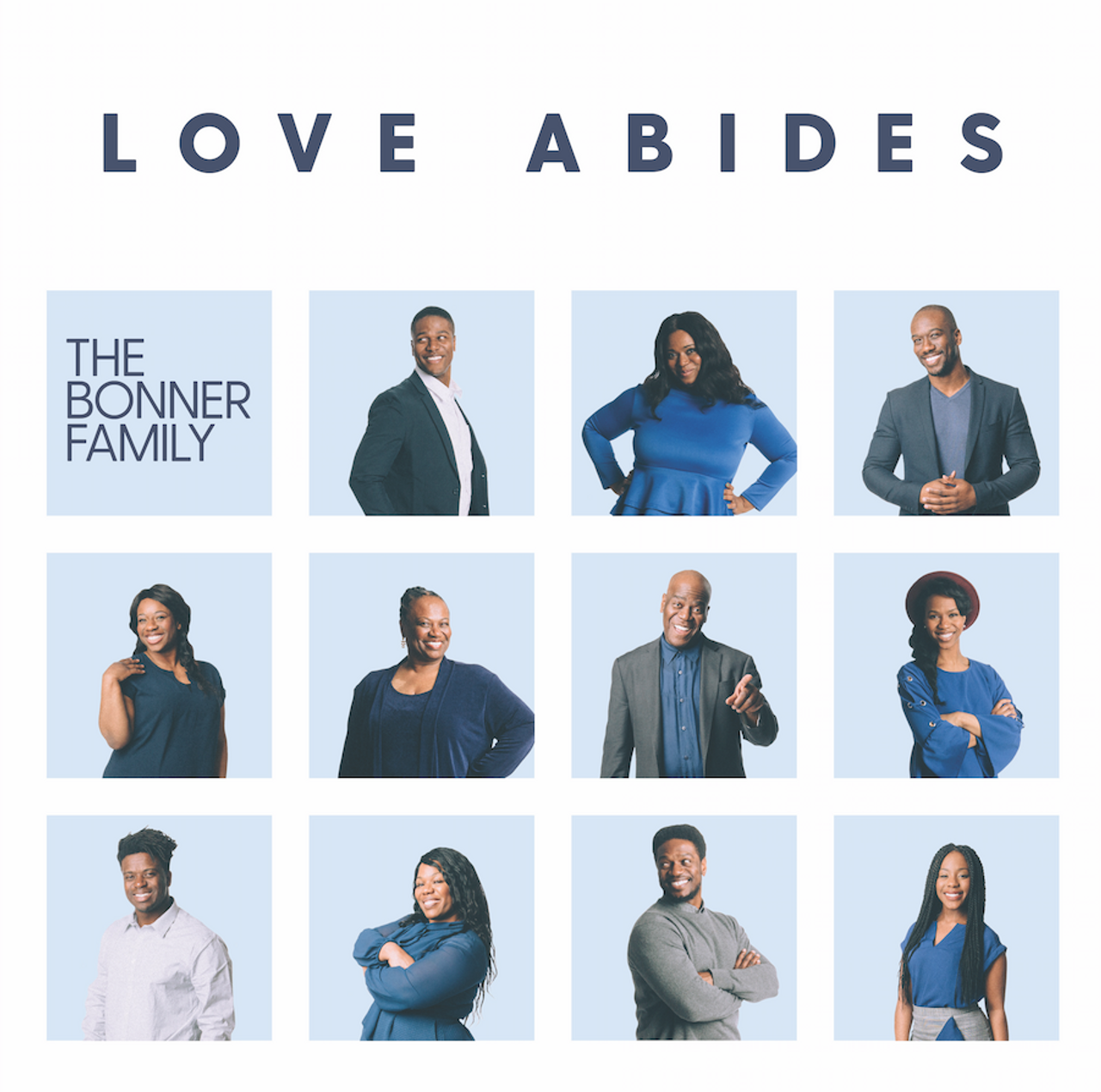Love Abides: The Bonner Family (CD)