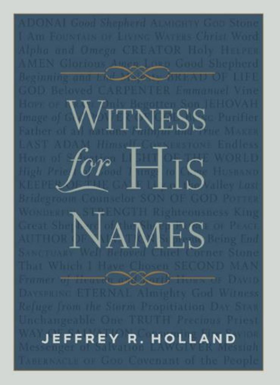 Witness for His Names (Hardback)