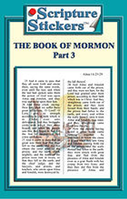 Scripture Stickers Book of Mormon Part 3 *