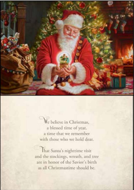 We Believe in Christmas Card Set *