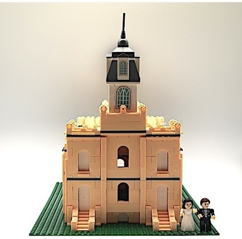 Brick Set - Manti Temple*