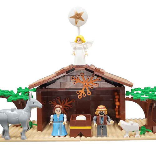 Brick Set - Nativity*