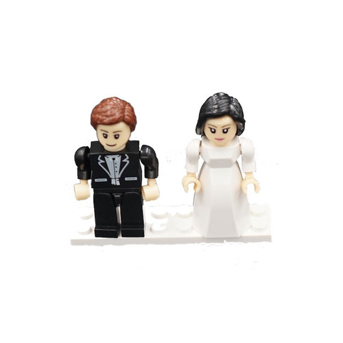 Bride & Groom Brick Set *