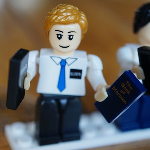 Brick Set Figures - Elder Missionaries*